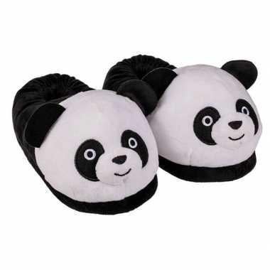 3d panda sloffen voor dames
