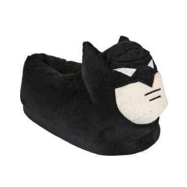 Batman sloffen zwart voor kinderen