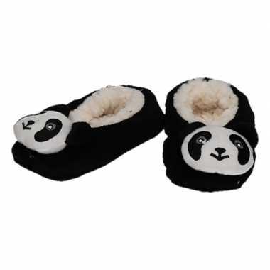 Cadeau kinderslofjes/sloffen panda