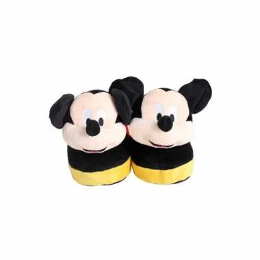 Comfortabele mickey mouse sloffen voor kinderen
