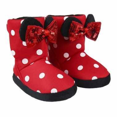Disney minnie mouse 3d sloffen/sloffen voor meisjes