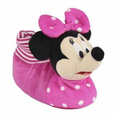 Disney minnie mouse kinder sloffen 3d voor meisjes
