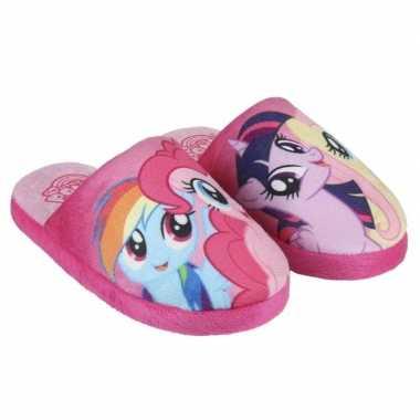 Roze my little pony open sloffen voor meisjes