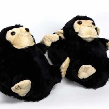Zachte dieren sloffen aap