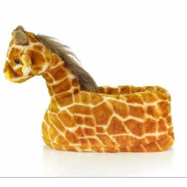 Zachte dieren sloffen giraffe 10059320
