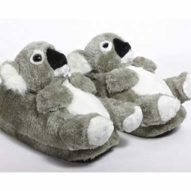 Zachte dieren sloffen koala