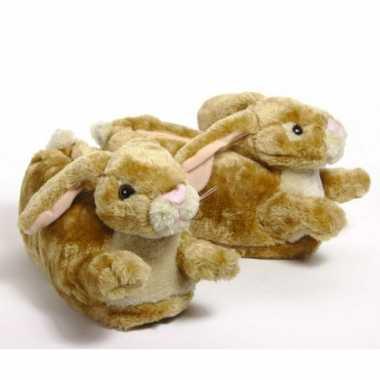 Zachte dieren sloffen konijn