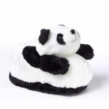 Zachte dieren sloffen panda