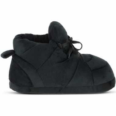 Zwarte sneaker model sloffen/sloffen voor heren