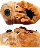 Bulldog sloffen voor kinderen mt 33 34