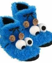 Hoog model koekiemonster sloffen voor volwassenen
