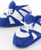 Sneaker sloffen sloffen voor volwassenen blauw wit 45 47
