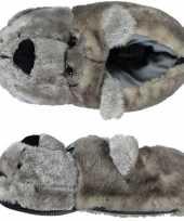 Warme sloffen sloffen berenkop voor kinderen 10121943
